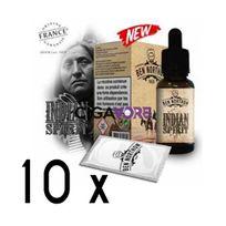 Ben Northon - Lot de 10 e-liquides Indian Spirit - 3 mg soit 4,90 euros le flacon 10ml