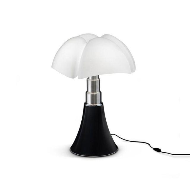 Martinelli Luce Mini Pipistrello-lampe Led H35cm Noir Mat - designé par Gae Aulenti