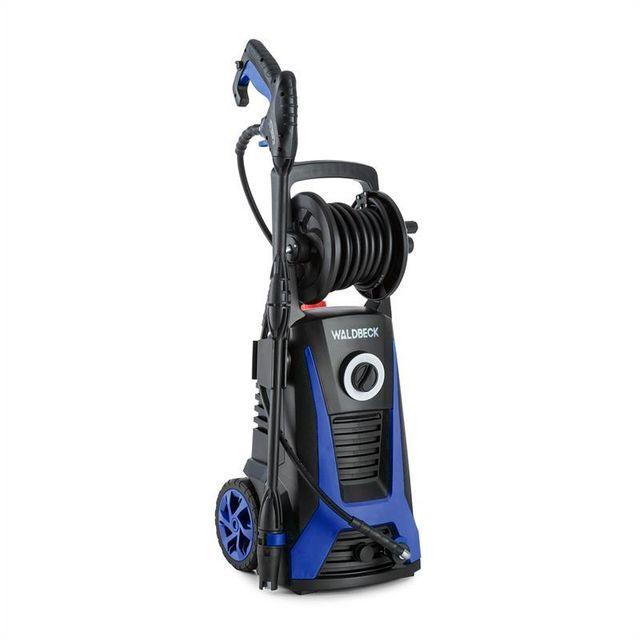 WALDBECK Saubermann Nettoyeur haute pression Combiné Enrouleur - noir/bleu