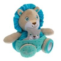 Chicco - Peluche Soft Cuddles : Lion bleu