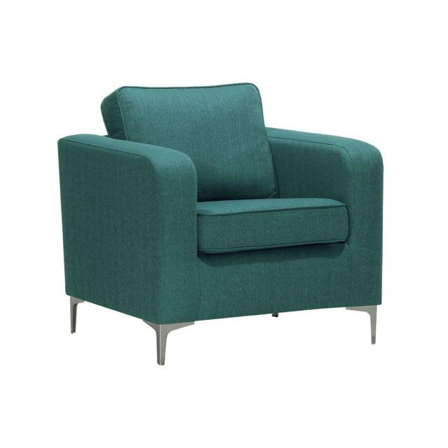 miliboo fauteuil design bleu canard harry - Fauteuil Bleu Canard Pas Cher