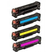 Marque Generique Hp Cf310A Cf311A Cf312A Cf313A Lot de 4 Toners Lasers Compatibles