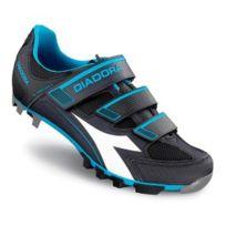 Diadora - Chaussures X-trivex Ii anthracite blanc bleu fluo