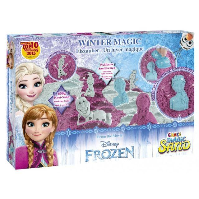 La Reine Des Neiges Coffret Sable Magique La Magie de l'Hiver