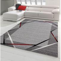Koton   Tapis De Salon Santana Gris, Noir, Rouge 120x160cm