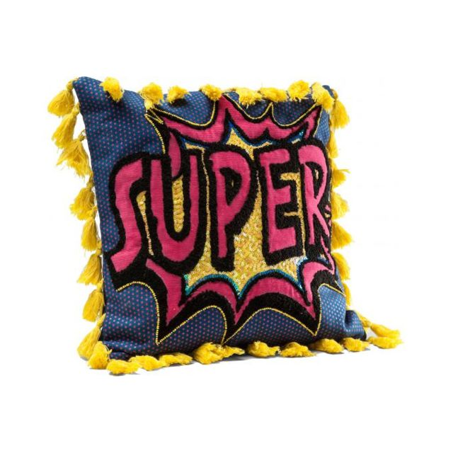 Declikdeco Coussin Cartoon Super 35x35cm