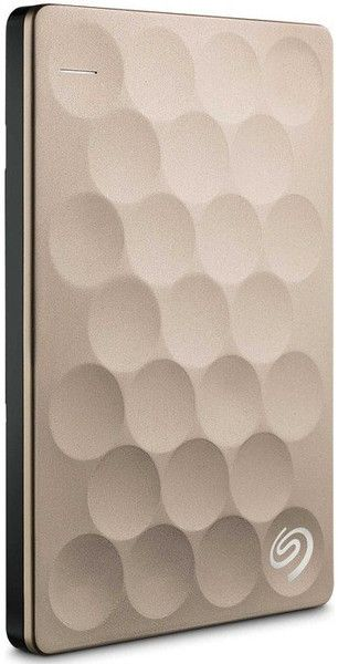 """Seagate Backup Plus Ultra Slim Backup Plus Ultra Slim 2 To 2.5"""" Disque dur externe Usb 3.0 or"""