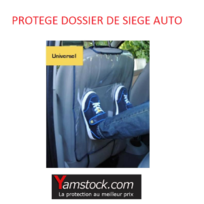 Peraline - Protège dossier de siège auto