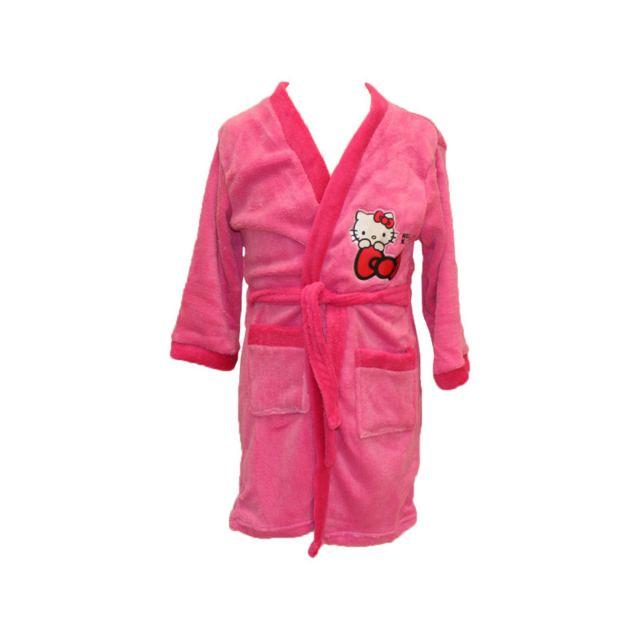 0a38611ac Hello Kitty - Robe de chambre Fille - pas cher Achat / Vente Chemises de  nuit, nuisettes - RueDuCommerce