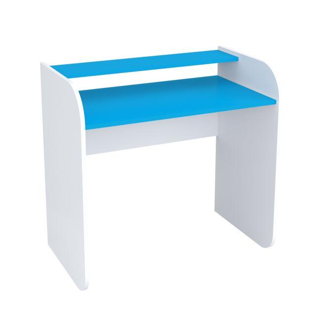 Mpc Bureau Enfant Blanc Et Bleu 94 Cm 1cm X 1cm X 1cm Pas Cher