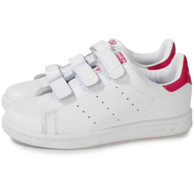 adidas stan smith rose et blanche