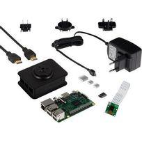 Raspberry - Set caméra Pi3 Modèle B 1 Go Noobs avec bloc d'alimentation, avec logiciel