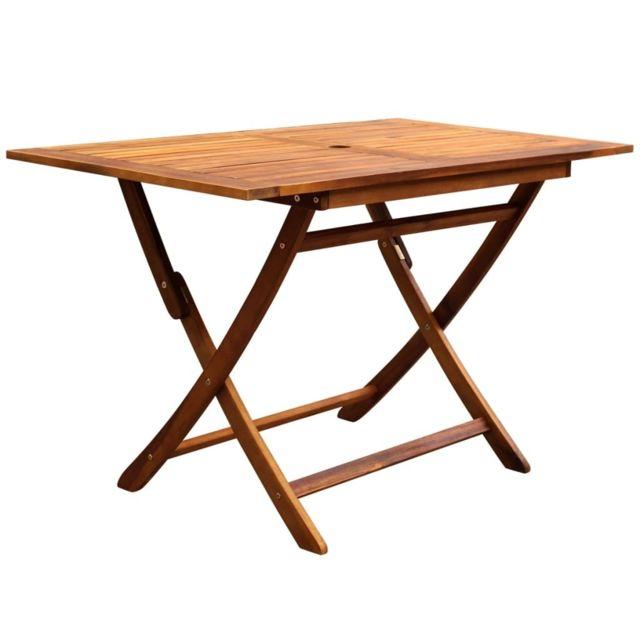 Icaverne - Ensembles de meubles d'extérieur categorie Mobilier d'extérieur 5 pcs Bois d'acacia massif