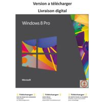 Microsoft - Windows 8 pro - France