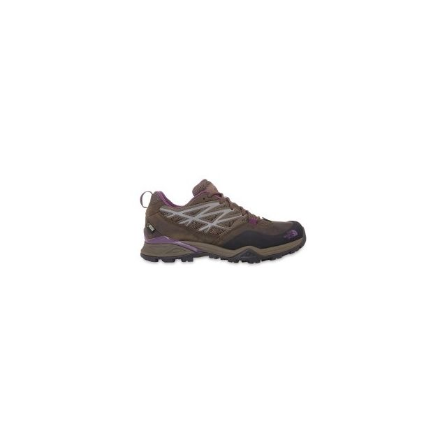 aa6874fb0b The north face - Chaussures Hedgehog Hike Gtx marron pourpre femme - pas  cher Achat / Vente Chaussures grande rando - RueDuCommerce