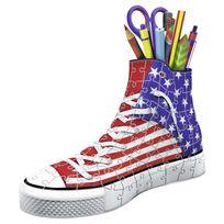 Tmtoys - Puzzle 3D 108 pièces : Chaussures Sneakers américaines