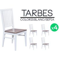 Lot 4 Chaises Blanches Achat Lot 4 Chaises Blanches Pas Cher