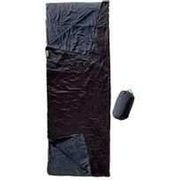 Cocoon - Outdoor Blanket Sleeping Bag fleece noir slate bleu