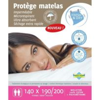 Sweet Home - Protege matelas Sara Fresh et Dry 140