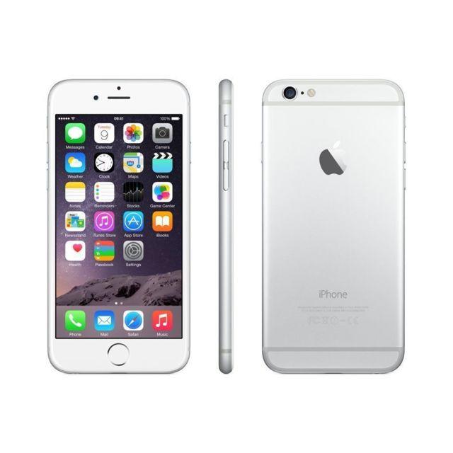 APPLE - iPhone 6 - 64 Go - Argent - Reconditionné