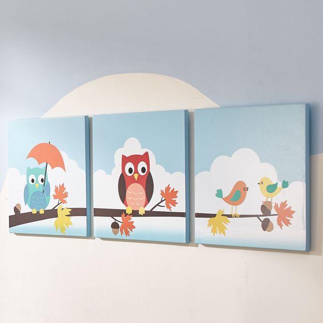 Tableaux Toiles Canvas Murale Pour Décor Chambre Enfant Bébé Fille Garçon Td 11735a