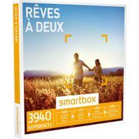 Smartbox - Rêves à deux - 4400 expériences : séjour, séance bien-être, gastronomie ou aventure - Coffret Cadeau