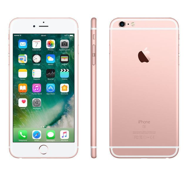 destockage apple iphone 6s 64 go or rose reconditionn pas cher achat vente smartphone. Black Bedroom Furniture Sets. Home Design Ideas