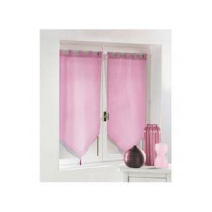homemaison paire de petits voilages pompons pas cher achat vente voilage rueducommerce. Black Bedroom Furniture Sets. Home Design Ideas