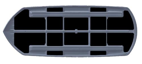 Coffre de toit Touring Sport 300 litres noir