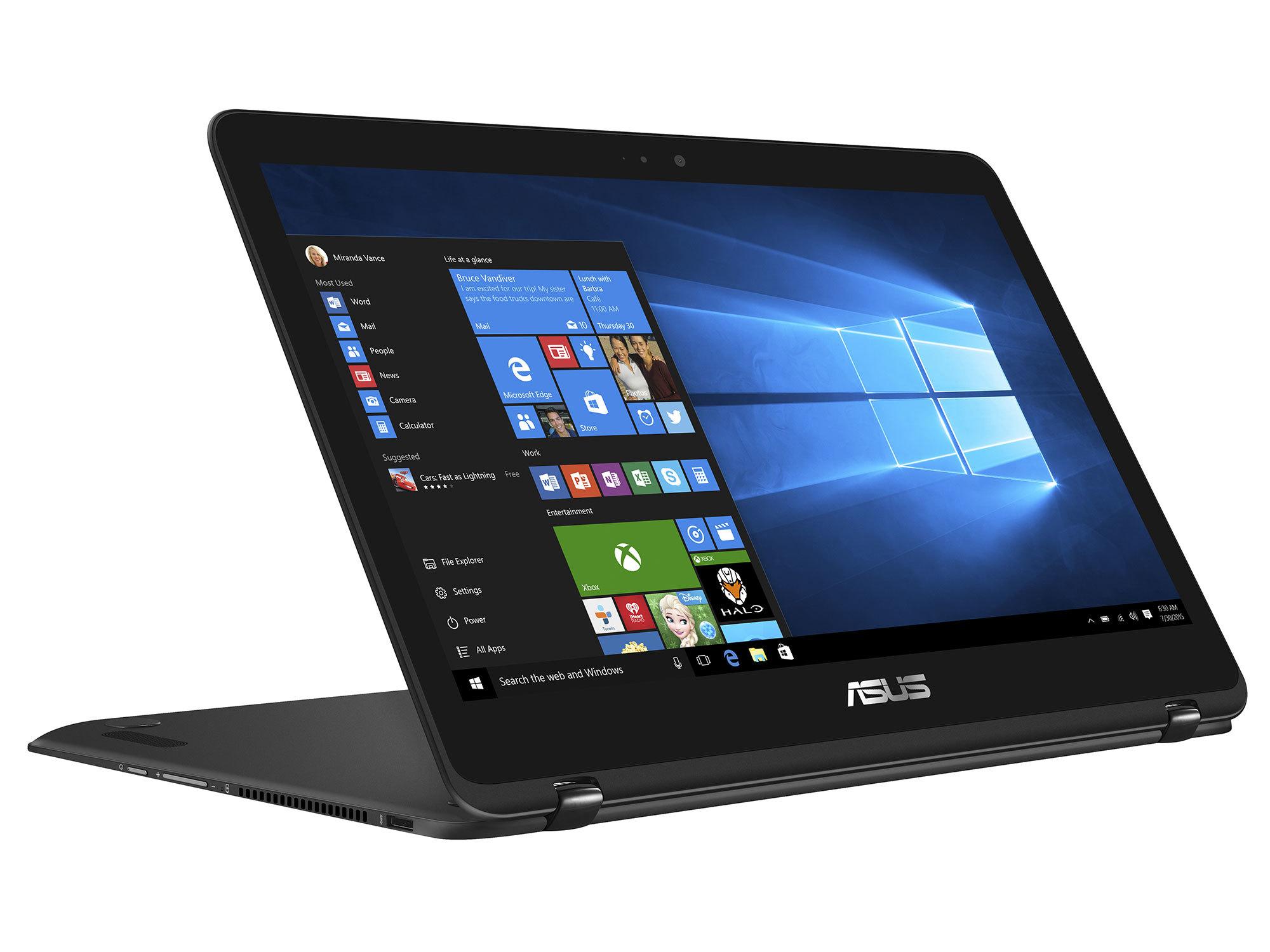 ZenBook Flip UX360UAK-DQ405T - Noir