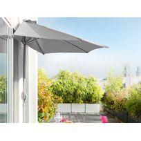 HESPERIDE - Demi parasol de balcon Serena Gris