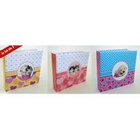 Ariane - Lot de 3 Albums photos souple happy cute 160 pochettes 10x15 cm