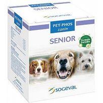 Pet-Phos - Canin Senior Compléments alimentaires pour chiens agés 100 comprimés