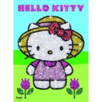 No Name - Sequin Art Hello Kitty Garden Design
