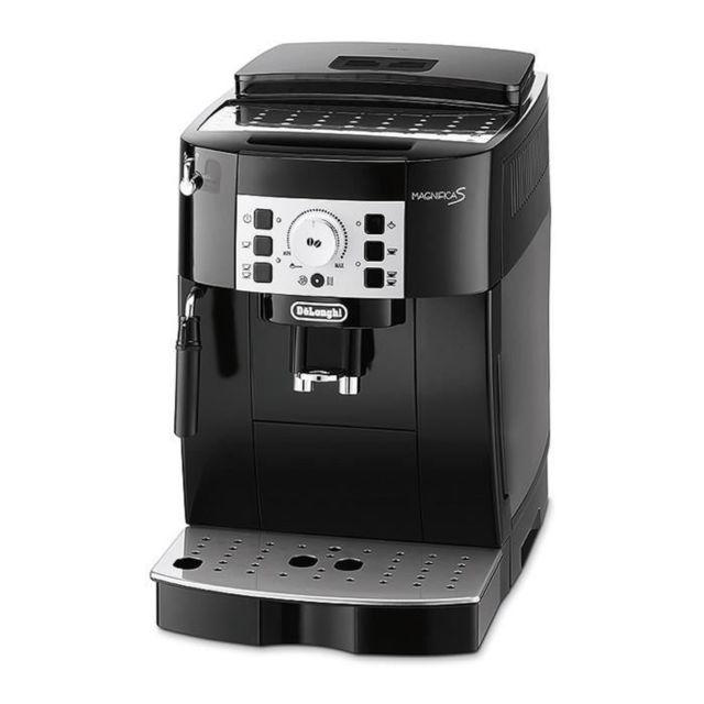 De'Longhi MACHINE A CAFE ECAM 22.110.B MAGNIFICA Machine expresso automatique avec broyeur - Noir