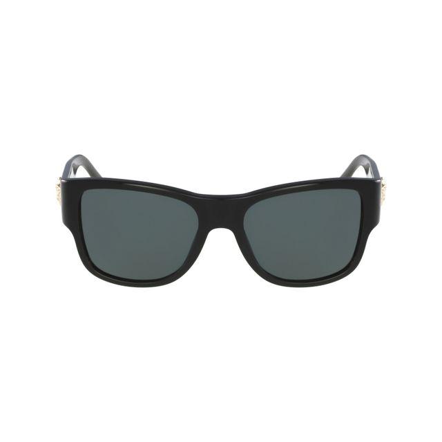 0e866f0a081a03 Versace - Ve-4275 Gb1 87 Noir - Or - Lunettes de soleil - pas cher Achat    Vente Lunettes Tendance - RueDuCommerce