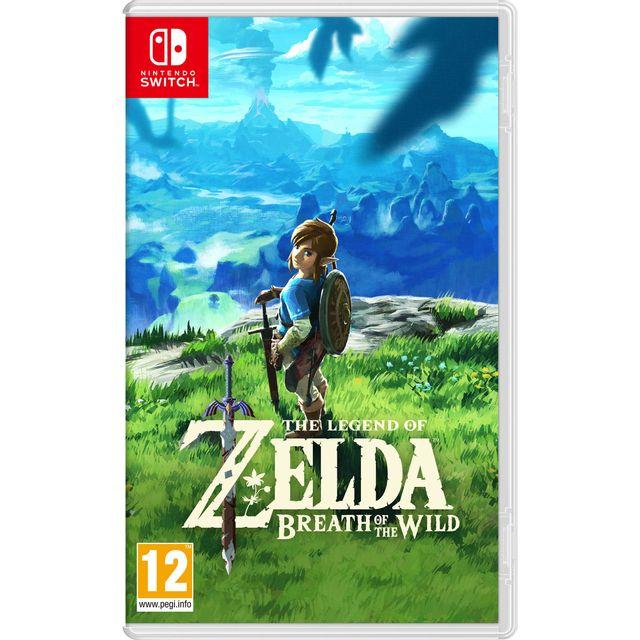 NINTENDO - The Legend of Zelda : Breath of the Wild