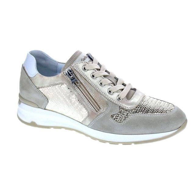 Giardini 7530 Pas Nero Femme Chaussures Baskets Modele Basses lXiTPOuwkZ