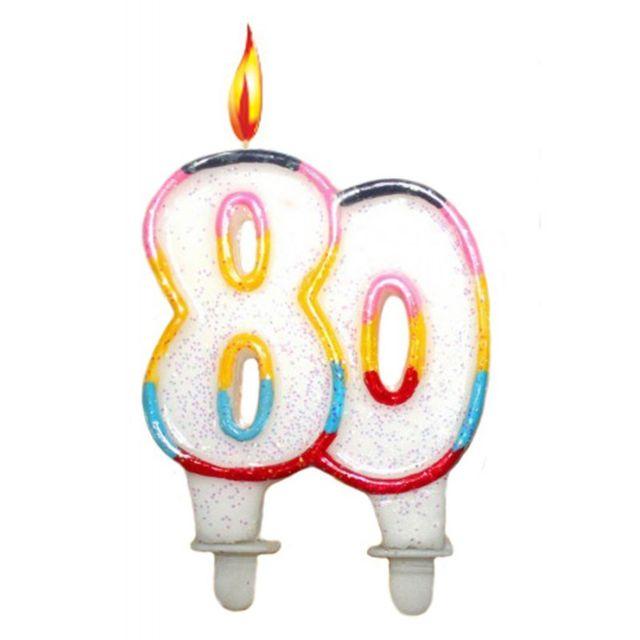 Bougie Anniversaire surprisez-vous - bougie anniversaire 80 ans - pas cher achat / vente