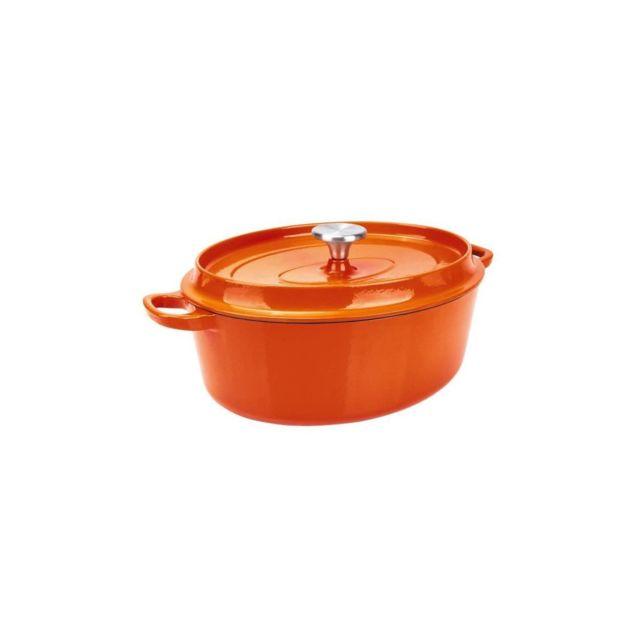 Berndes Cocotte a rotir avec couvercle Specials Fonte - O 29 cm - Orange