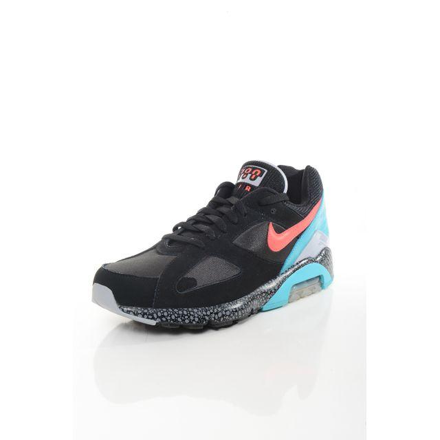 online store 6341a db5f9 Nike - Basket Homme Air Max 180 Noir - pas cher Achat   Vente Baskets homme  - RueDuCommerce