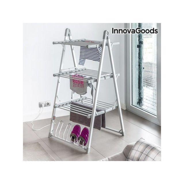 marque inconnue tendoir linge lectrique pliable compak. Black Bedroom Furniture Sets. Home Design Ideas