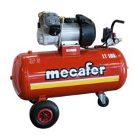 Mecafer - Compresseur 100L 3hp