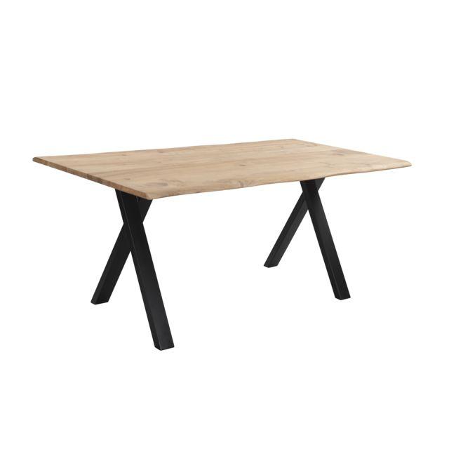 Rendez Vous Deco Table rectangulaire Kansas 175 cm