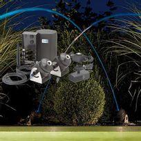 Oase - jeu d'eau et lumière 2 jets 41 w - water jet lighting