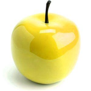amadeus pomme d co design jaune pas cher achat vente objets d co rueducommerce. Black Bedroom Furniture Sets. Home Design Ideas