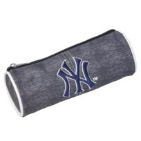 New York Yankees - Trousse ronde Grise 22 Cm
