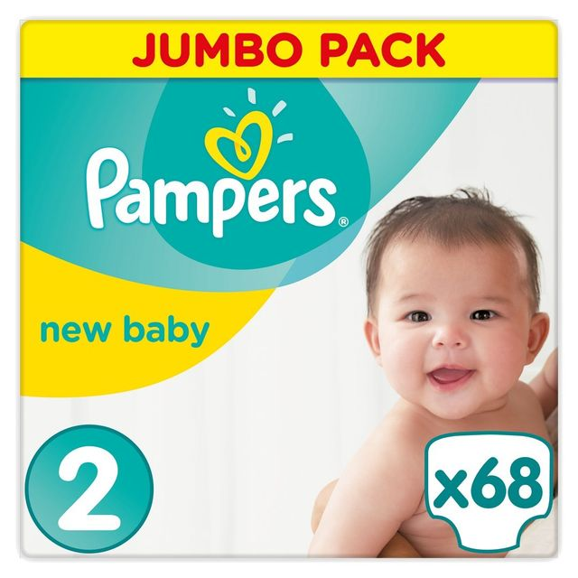 Pampers premium protection new baby couches taille 2 midi 3 6kg 68 couches pas cher - Couches pas cher taille 2 ...