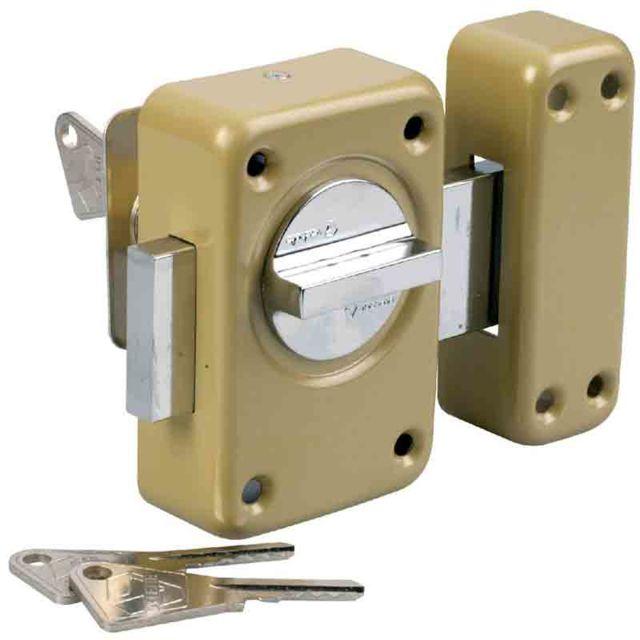 60839052933 Vachette - Verrou de sureté bouton et cylindre série V136 - pas cher ...