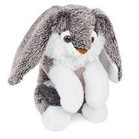 Histoire d'ours - Peluche Lapin Moka